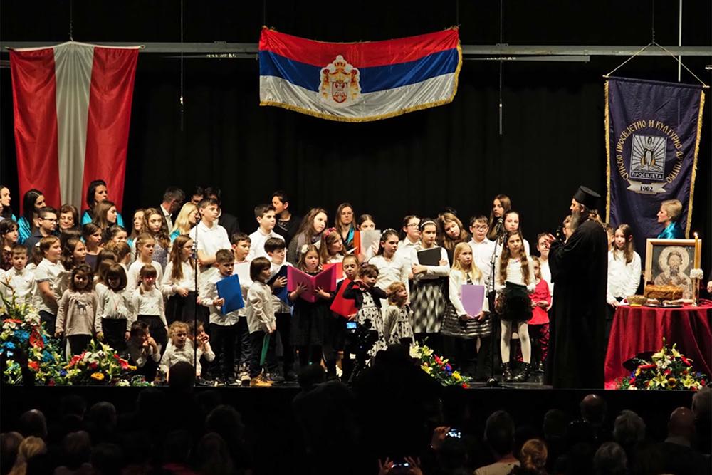 Hl Sava Feier In Wien Im Zeichen Der Kinder Jugendlichen Musik