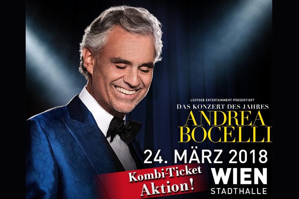 Andrea Bocelli: Koncert u Beču