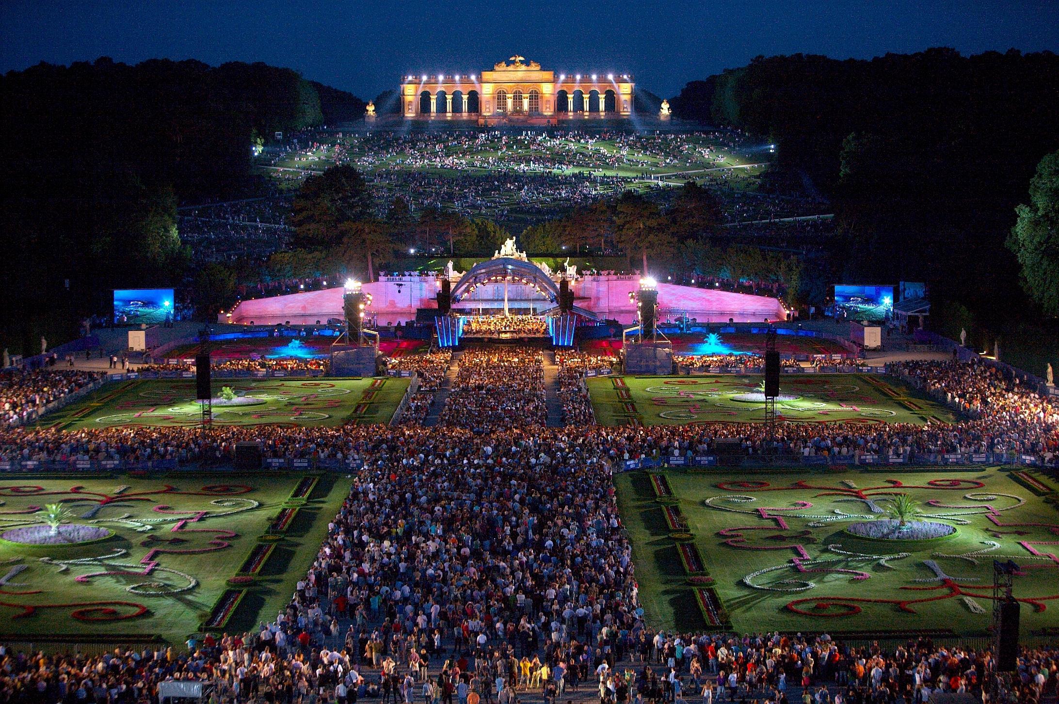 Sommernachtskonzert der Wiener Philharmoniker