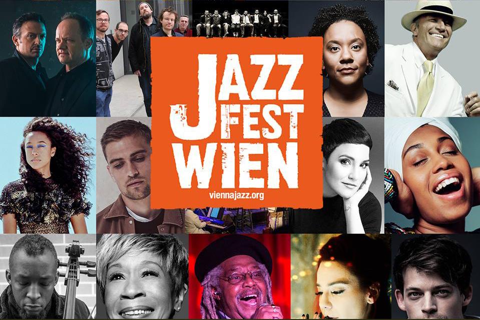 JazzFest.Wien 2018- Namhafte, hochkarätige Künstler und Künstlerinnen