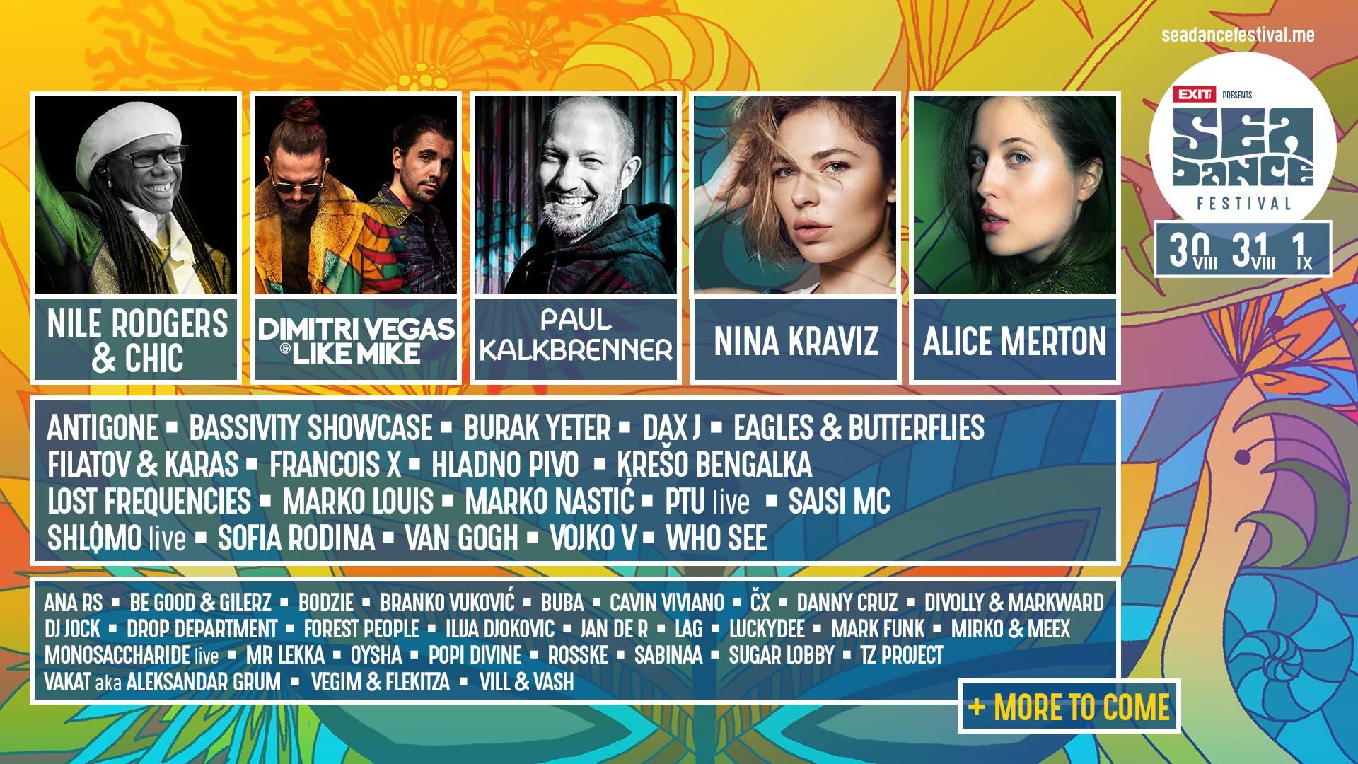 Sea Dance festival u Crnoj Gori