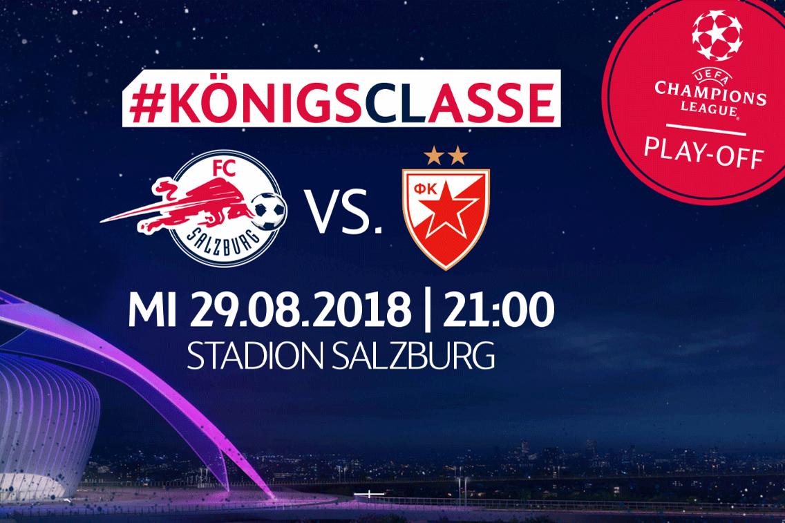 Utakmica Crvena zvezda protiv Red Bull Salzburga