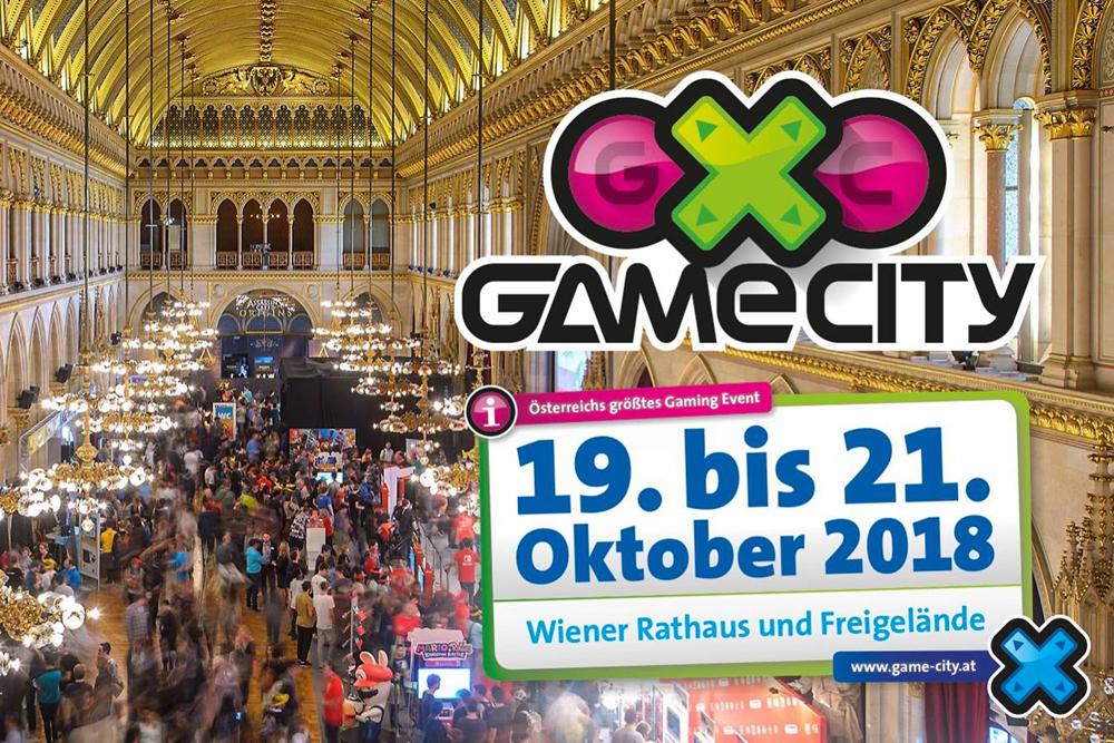 """""""Game City 2018″  im Wiener Rathaus"""
