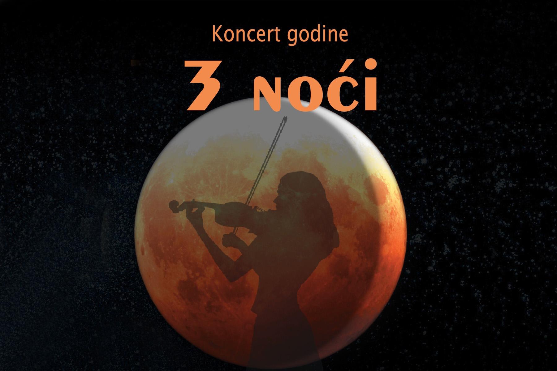 """Koncert """"3 noći"""" u Akzent teatru: Jedinstven muzički događaj"""