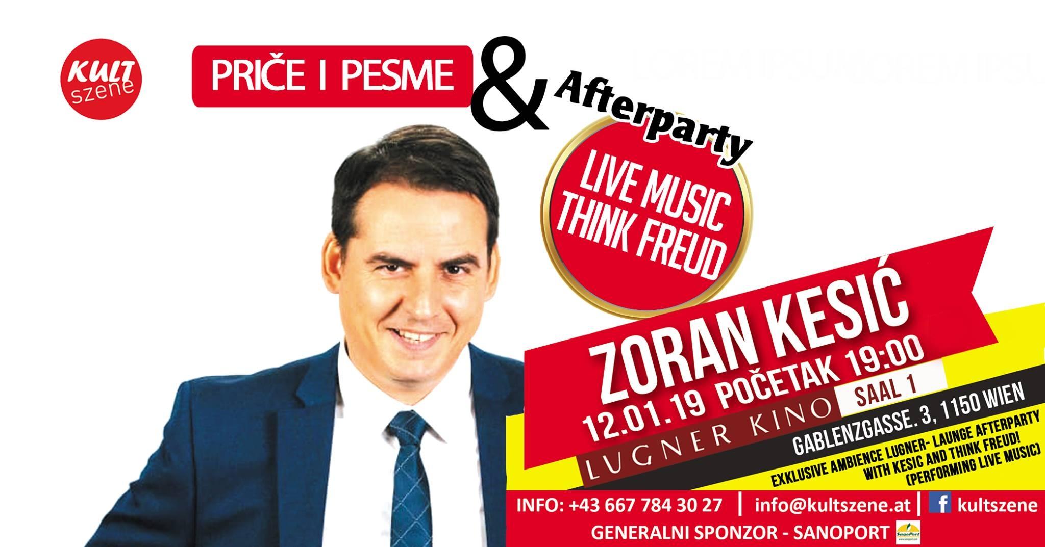 """Zoran Kesić uskoro u Beču i njegove nezaboravne """"Priče i pesme"""""""