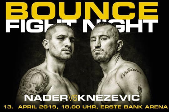 Boxspektakel in Wien: Bounce Fight Night #4 Nader vs. Knezevic