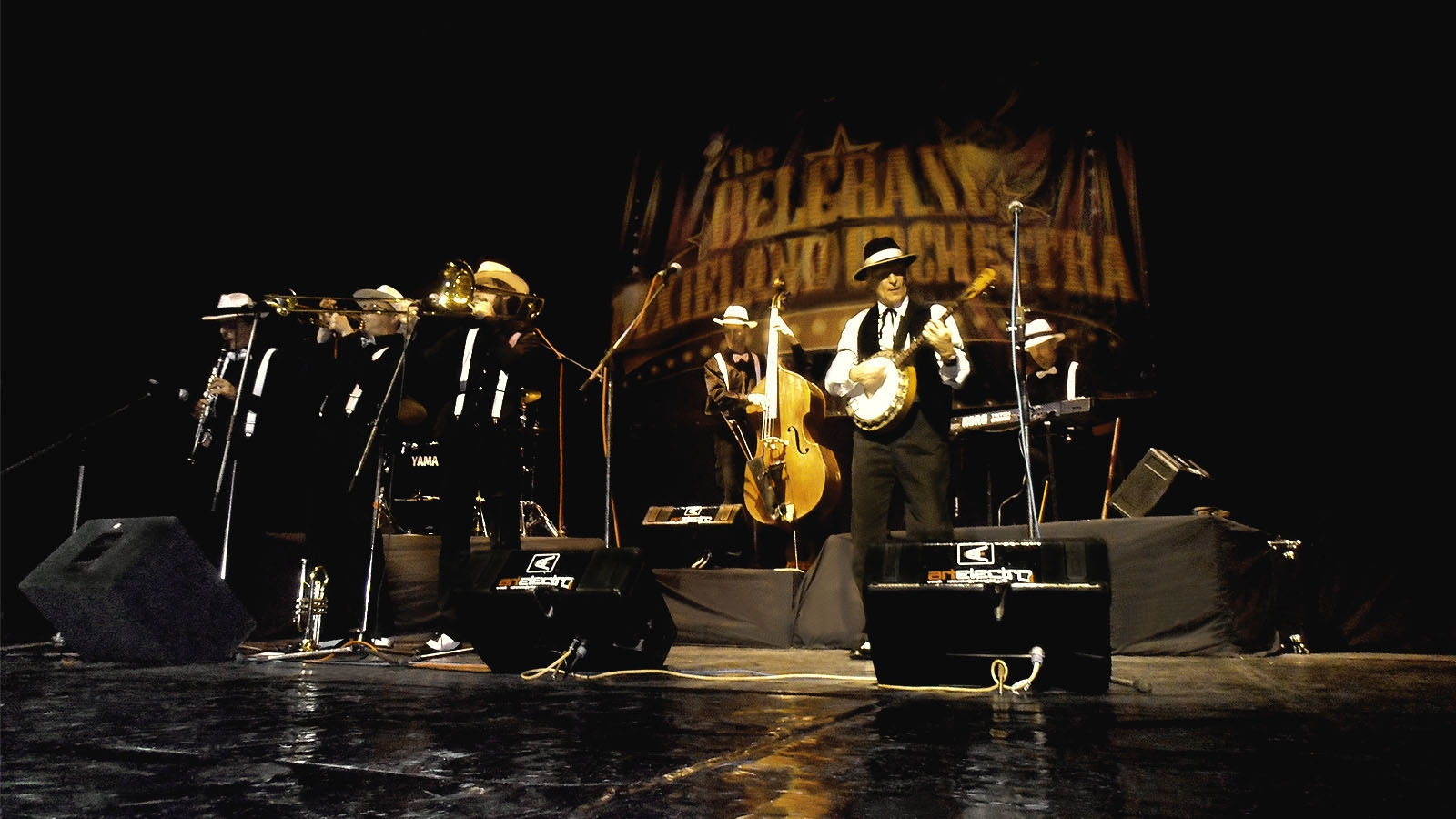 The Belgrade Dixieland Orchestra im Theater Akzent