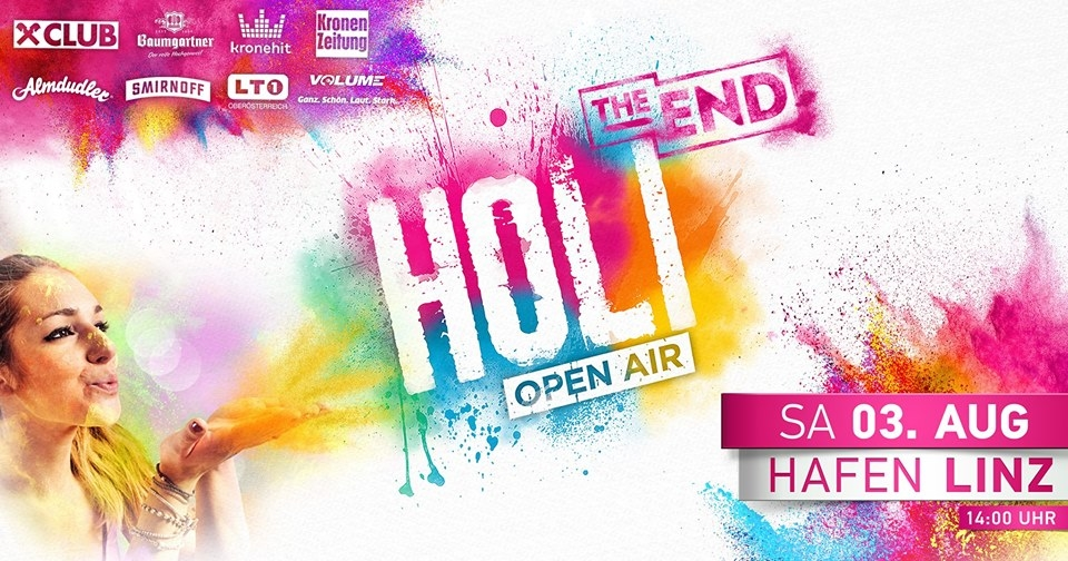 HOLI Festival der Farben LINZ 2019