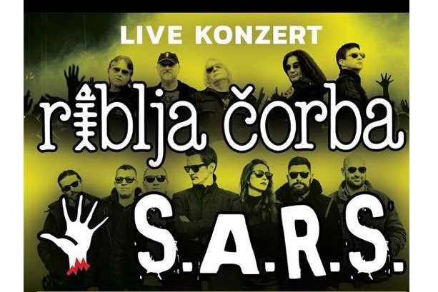 Koncert uživo: Riblja čorba i S.A.R.S u Beču
