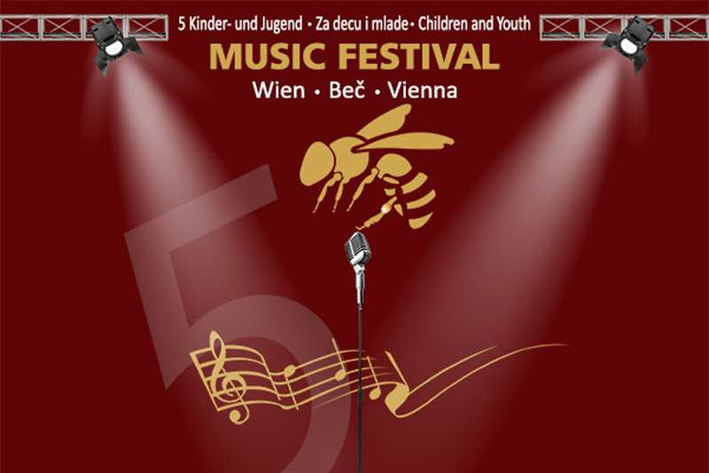 """Muzički festival za decu i mlade """"Zlatna pčela"""" u Beču"""