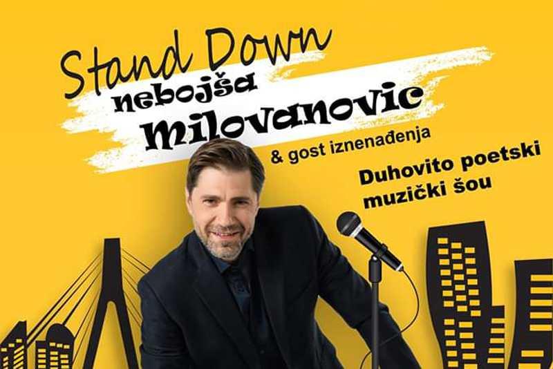 Nebojša Milovanović & gosti: Stand down šou